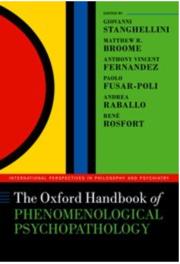 Phenomenological Psychopathology